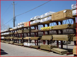 Framing lumber and treated lumber